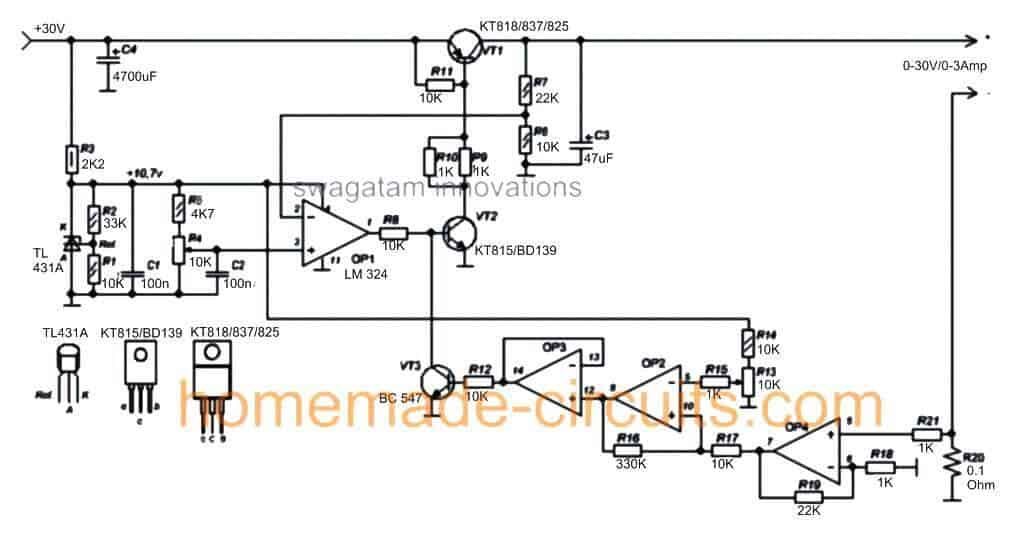 Wiring Manual PDF: 0 30v Power Supply Circuit Diagram
