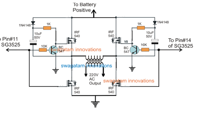 12V, 5 Amp SMPS Battery Charger Circuit