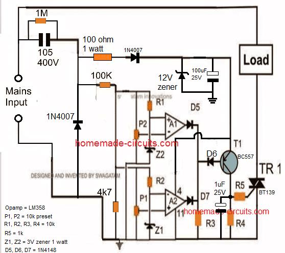 Wiring Diagram Under Voltage Relay