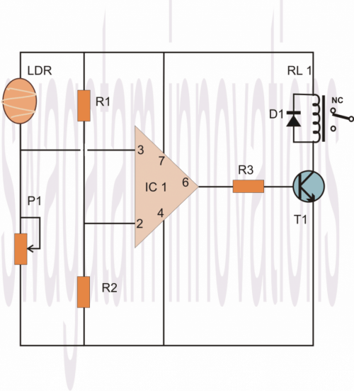 small resolution of we can see that the pin 7 of the opamp which is the supply pin is connected to the positive rail similarly its pin 4 which is the negative supply pin is
