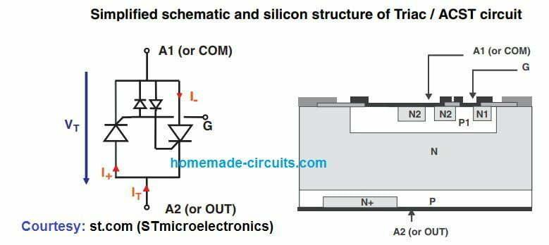 Triac Trigger Circuit Diagram Tradeoficcom