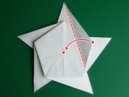Paper Origami Christmas Decorations