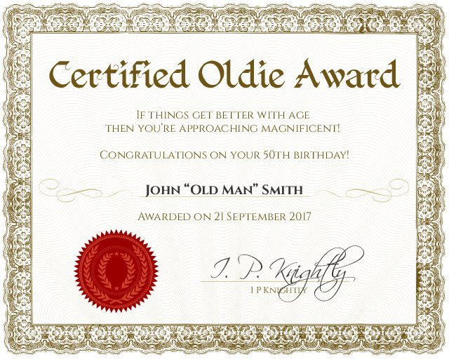 free printable award certificates for work