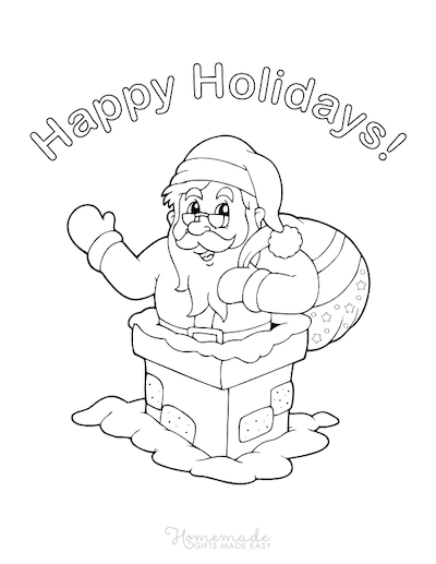 65 Best Christmas Coloring Pages Free Pdf Downloads