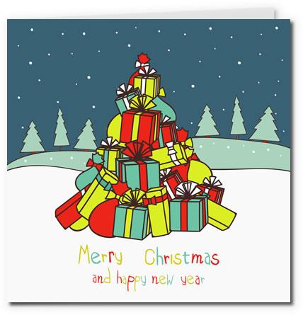 Free Printable Christmas Card Gallery