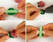 handmade baby hair clip tutorial