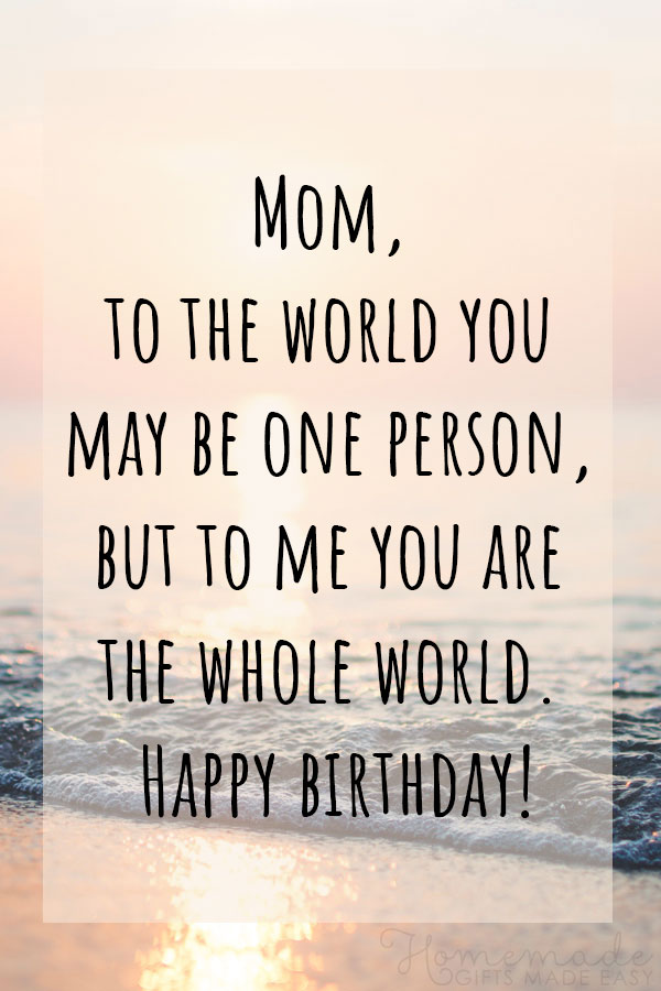 100 Best Happy Birthday Mom Wishes Quotes Amp Messages