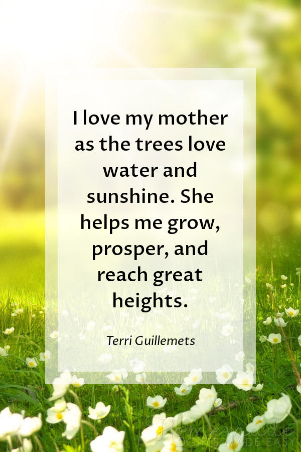 101 Mother's Day Sayings For Wishing Your Mom A Happy