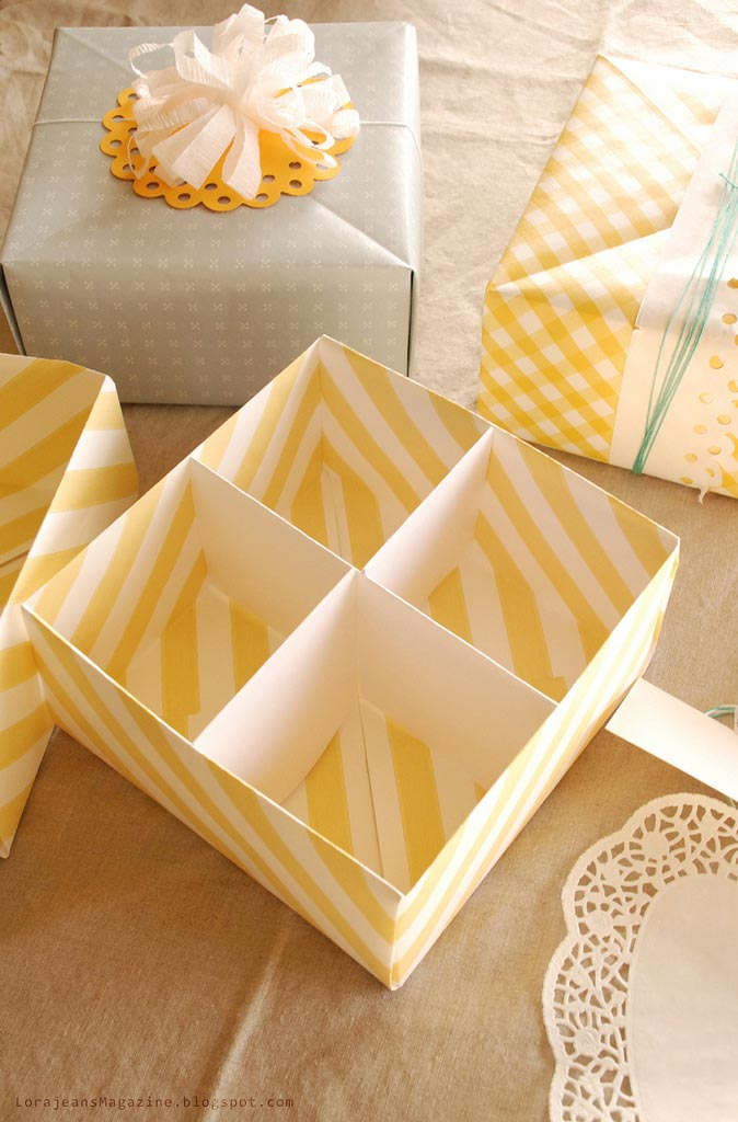 Make Your Own Gift Box With Lid Video Tutorial Picture