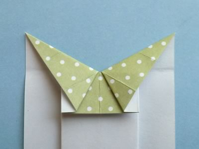 Homemade Origami Card to Make  Cute Dress Design with Photo Instructions
