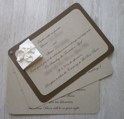 Star Wedding Invitations