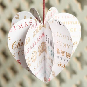 Christmas Decorations To Make From Paper