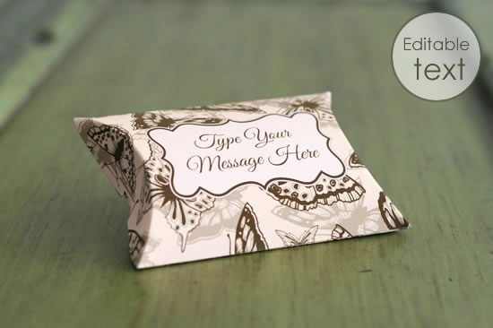 Free Printable Gift Box Templates Pillow Box And Others
