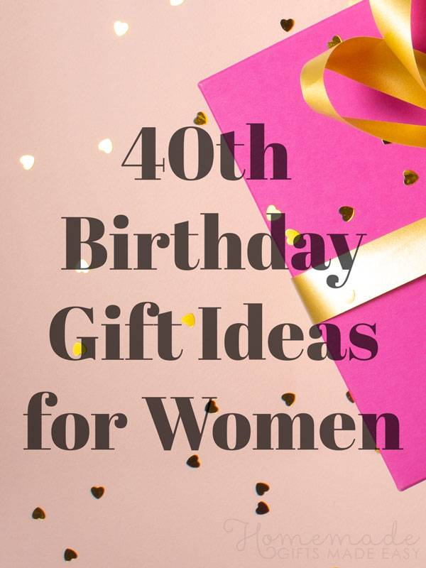 fabulous 40th birthday ideas