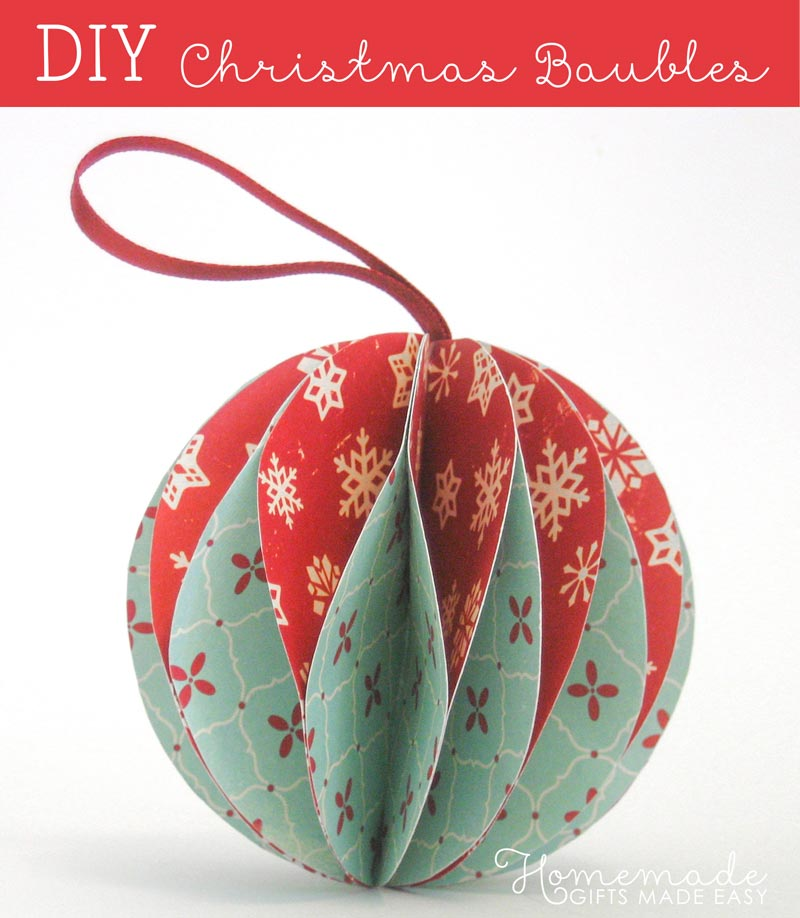 Decorate Christmas Baubles