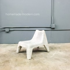 Plastic Chairs With Steel Legs Outdoor Bistro Chair Homemade Modern Ep100 Diy Concrete