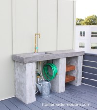 HomeMade Modern EP96 DIY Outdoor Kitchen with Concrete ...