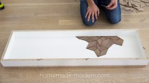 Homemade Modern Ep119 Diy Concrete Table With Walnut Inlays