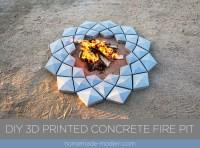HomeMade Modern EP125 DIY 3D Printed Concrete Fire Pit