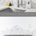 Homemade Modern Ep143 Diy Marble Backsplash