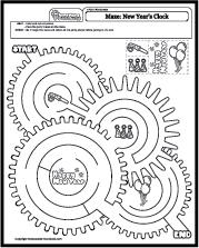 Math Worksheets Mazes