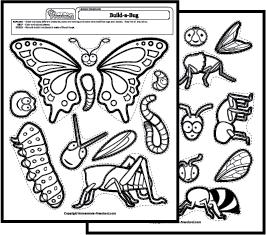 Science Worksheets Bugs