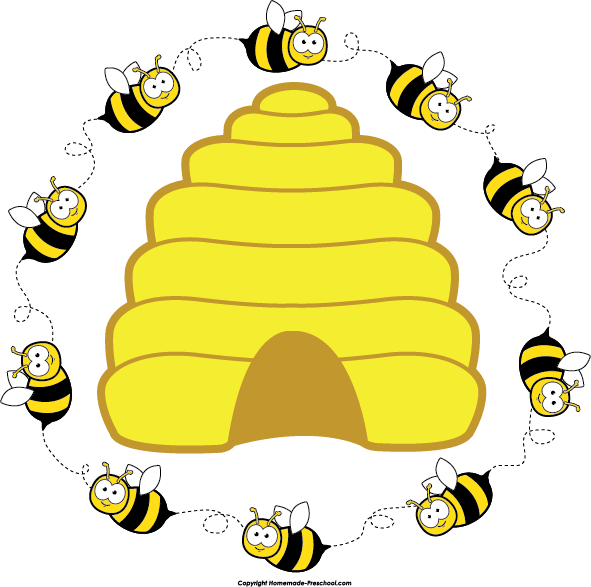 free bee clipart