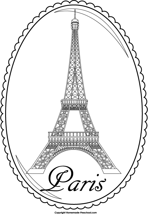 free eiffel tower clipart