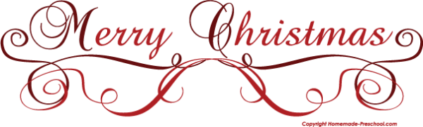 free merry christmas clipart