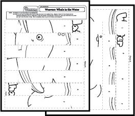 Art Worksheets Paper Weaving