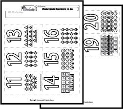 Math Worksheets Number Recognition