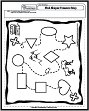 Treasure Map: Shapes