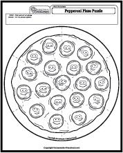 Pepperoni Pizza Puzzle
