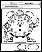 Math Worksheets Time