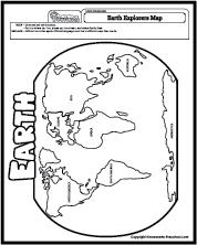 Earth Explorers Map