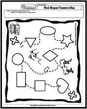 Treasure Map: Shapes
