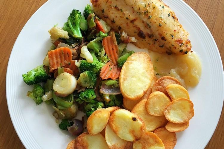 Aardappelschijfjes airfryer