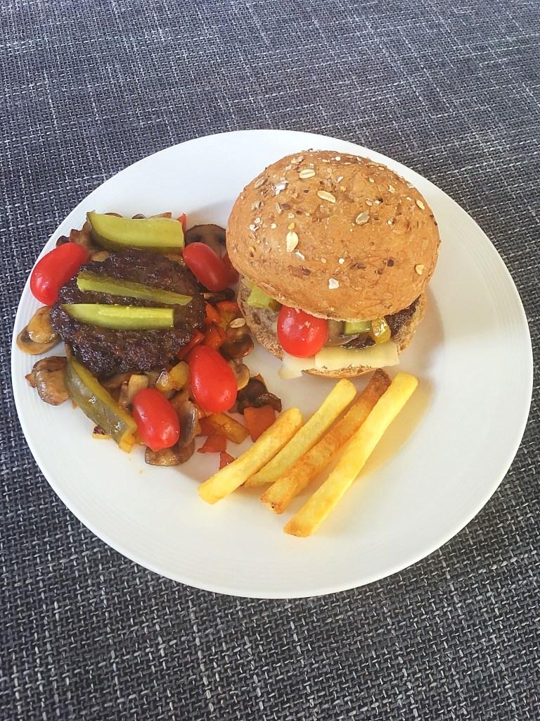 Broodje hamburger deluxe