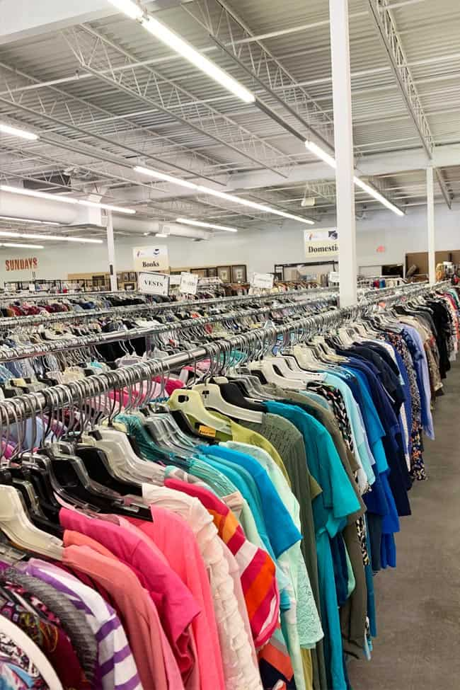 You can still thrift shop during a pandemic if you follow these tips for thrifting during COVID.