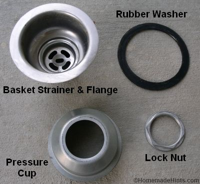 kitchen sink drain parts slice rugs how to install a basket