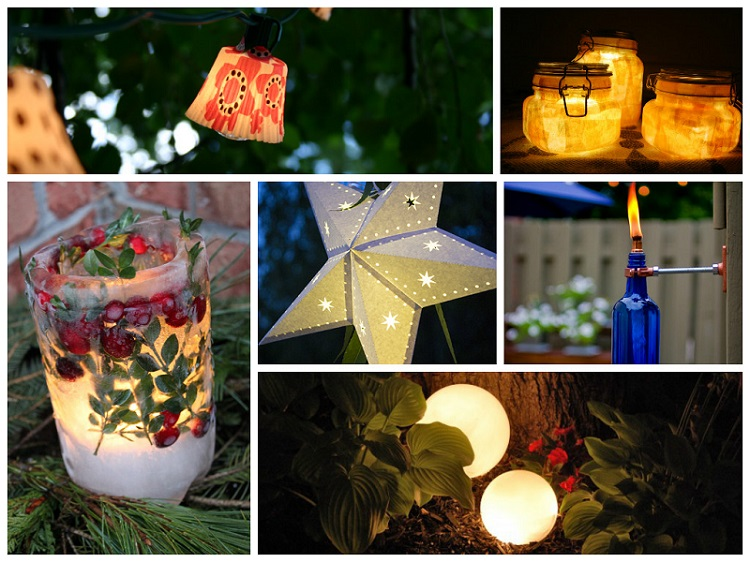 Stunning DIY Outdoor Lighting Ideas