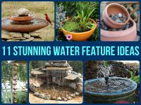 11 Stunning Water Feature Ideas