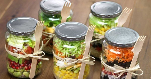 Image result for mason jar meals