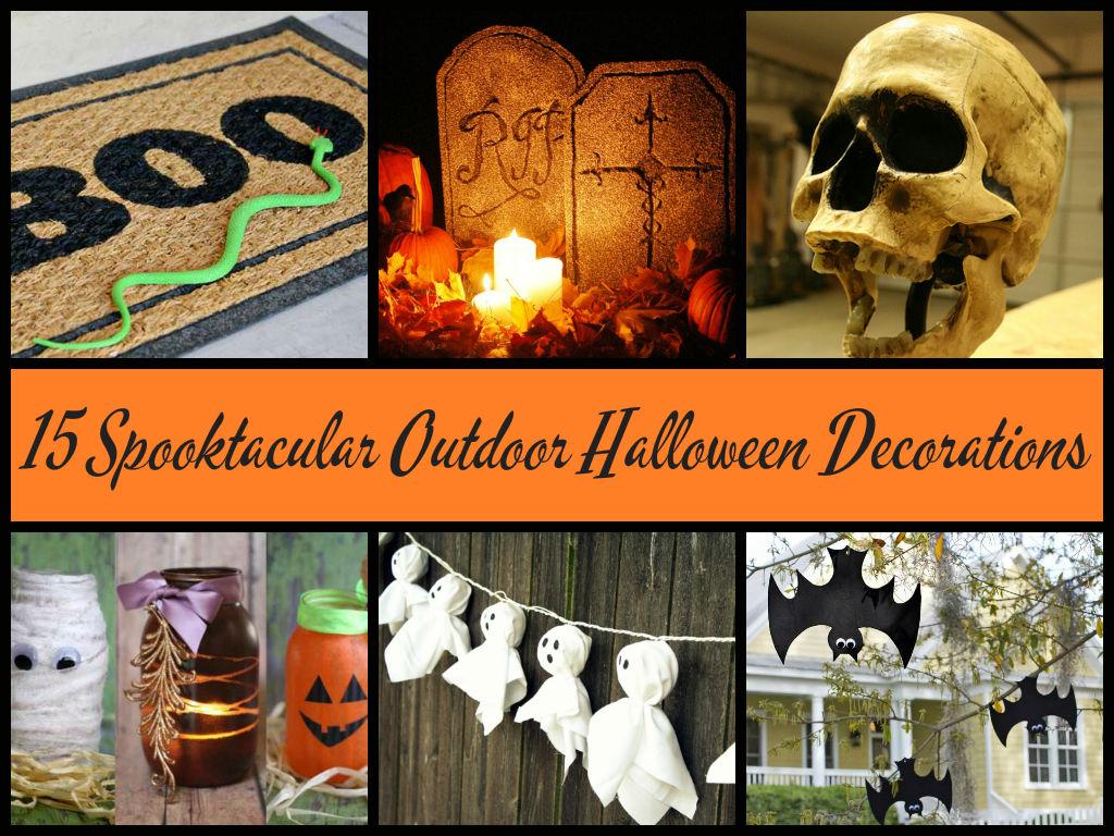 15 Spooktacular Outdoor Halloween Decorations