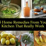 15 homemade remedies from your kitchen