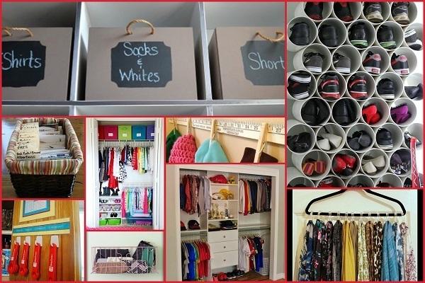 20 LifeChanging Ways To DeClutter  Organize Your Closet