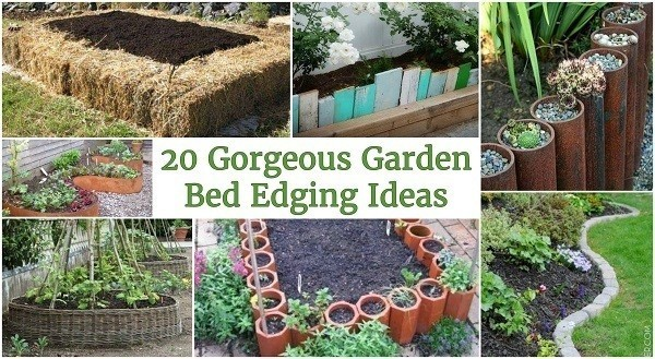Gorgeous Garden Bed Edging Ideas That Anyone Can Do