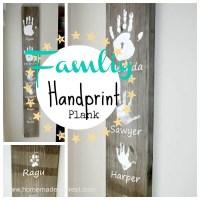 Personalized Handprint Wall Art