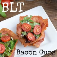 BLT Bacon Cups