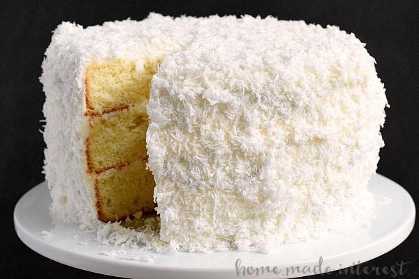 Easy Cake Recipe Coconut